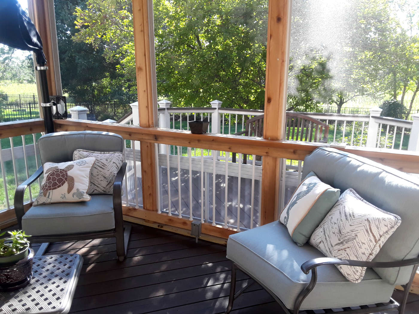 Blog | Archadeck Outdoor Living With Regard To Outdoor Wicker Plastic Half Moon Leaf Shape Porch Swings (View 22 of 25)