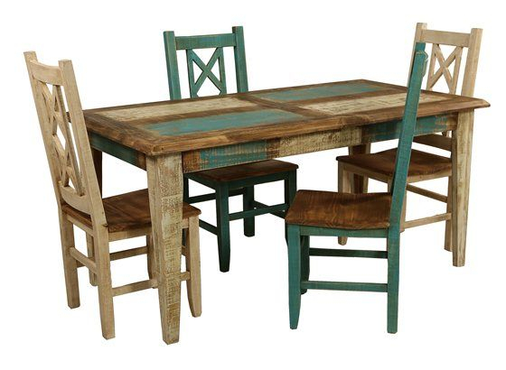 Bombay 5 Piece Dining Set | Living Room Table Sets, Dining Throughout Small Dining Tables With Rustic Pine Ash Brown Finish (View 4 of 25)