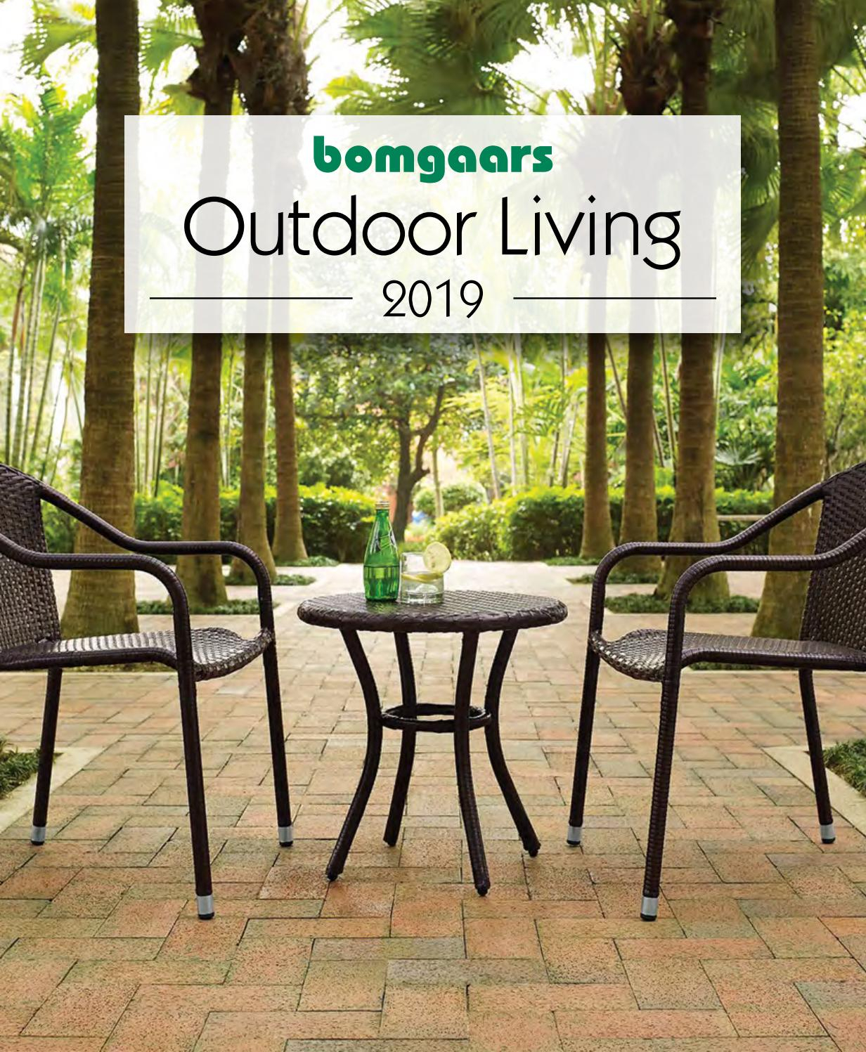Bomgaars Outdoor Livingbomgaars – Issuu Inside Iron Grove Slatted Glider Benches (View 26 of 26)