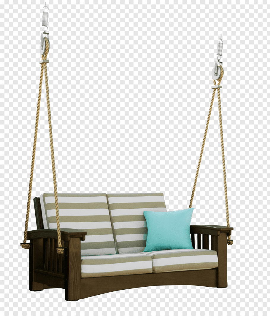 Brown Wooden Porch Swing, Swing Hershy Way Ltd Garden For Hanging Daybed Rope Porch Swings (Image 9 of 25)