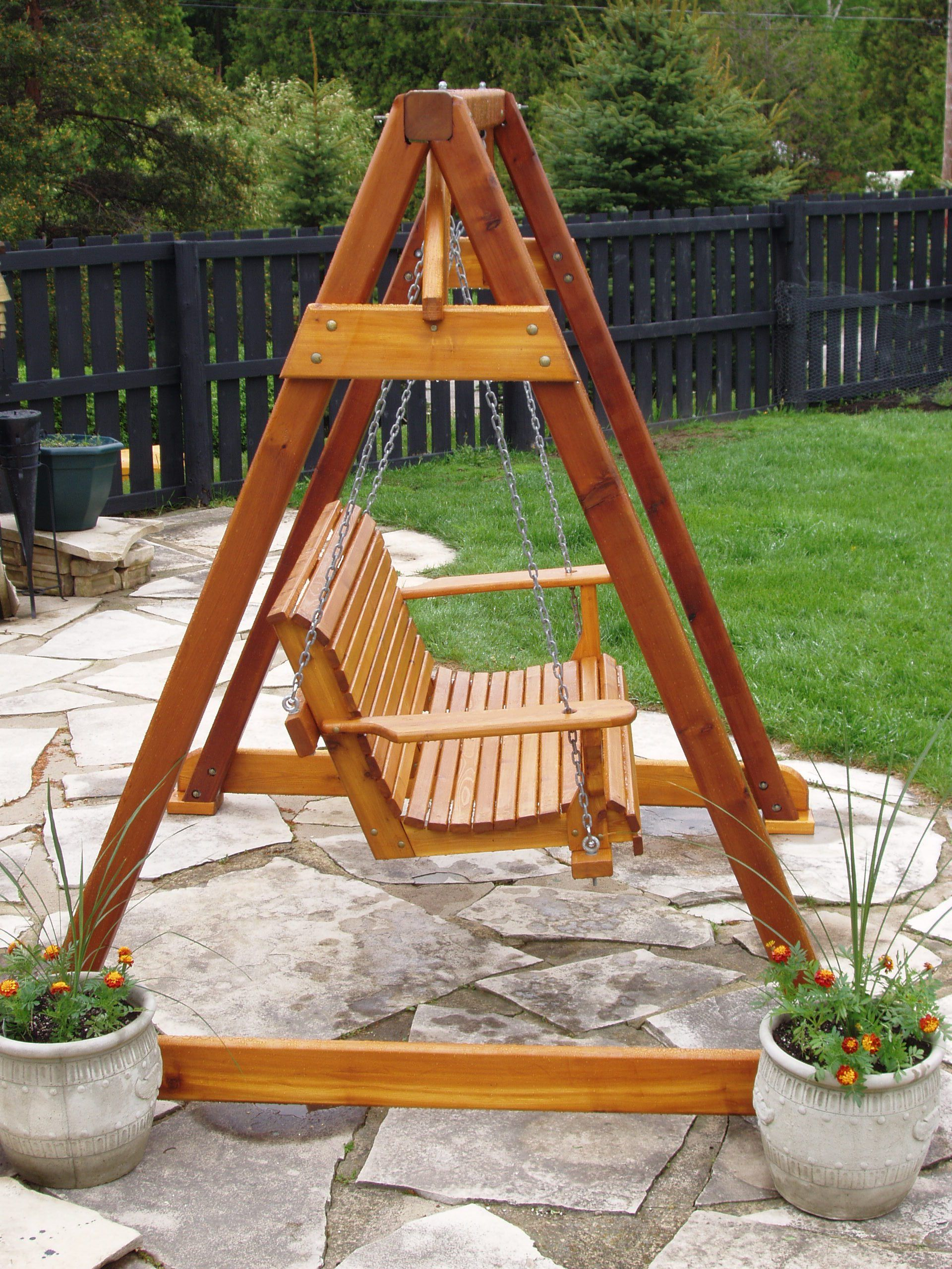 Build Diy How To Build A Frame Porch Swing Stand Pdf Plans Pertaining To Rosean Porch Swings (View 16 of 25)