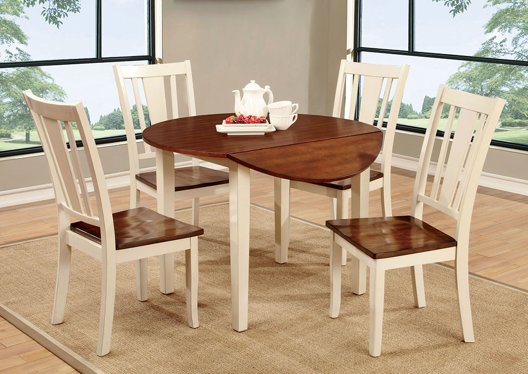 Builders Model Home Furniture – Sarasota, Fl Dover Ll White Throughout Transitional Drop Leaf Casual Dining Tables (View 13 of 26)