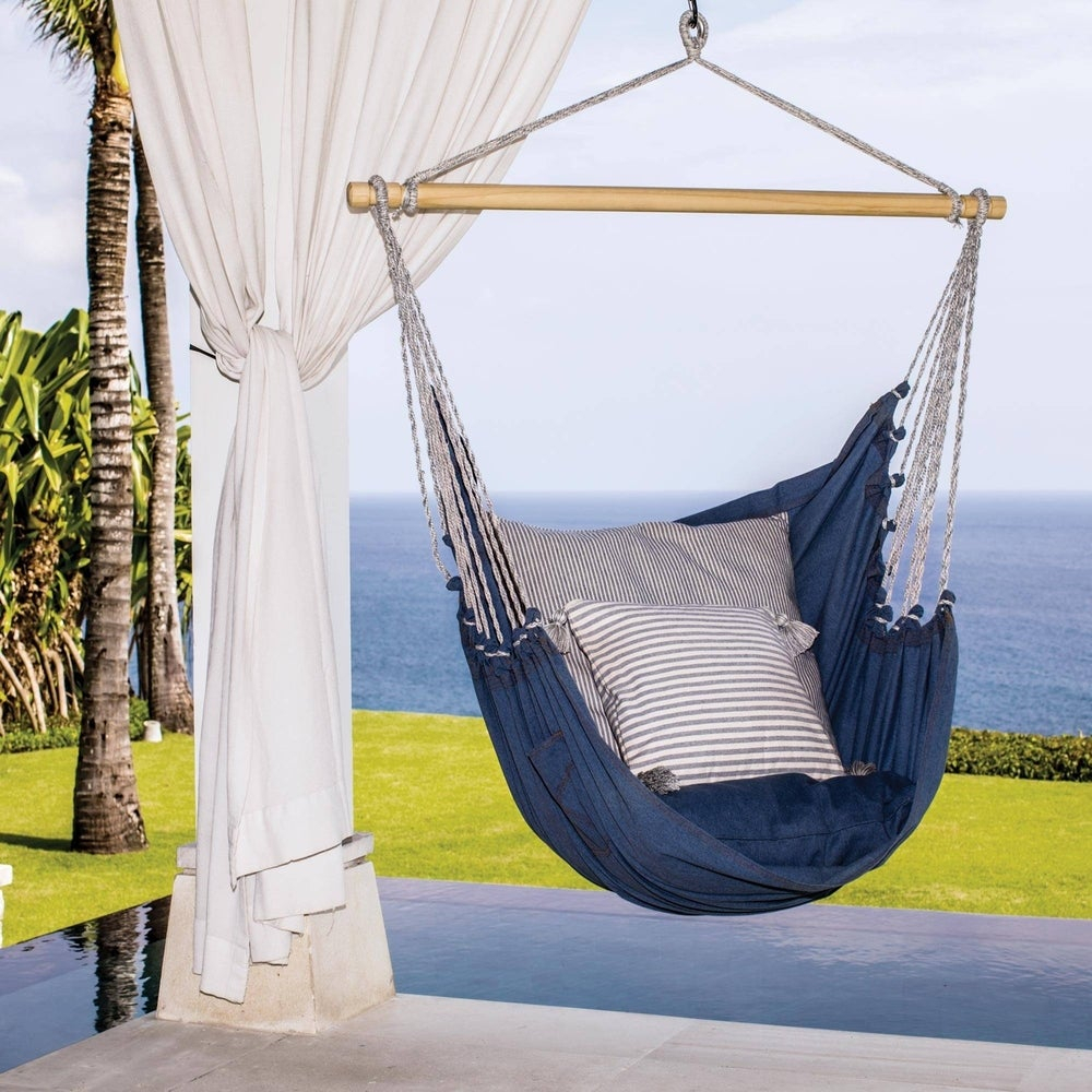 Buy Cotton Hammocks & Porch Swings Online At Overstock | Our In Cotton Porch Swings (View 4 of 25)