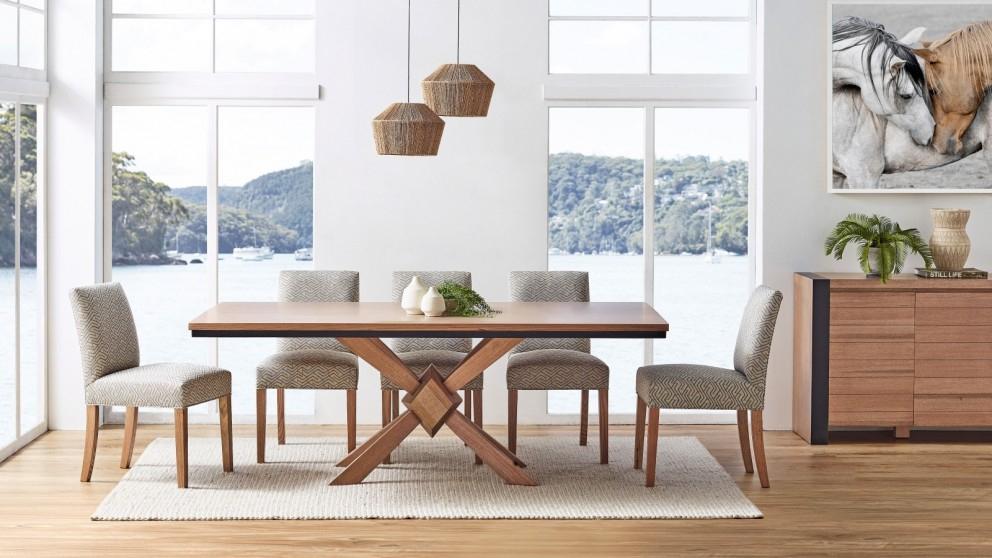 Buy Diamond Mountain Rectangular Dining Table   Harvey Norman Au For Rectangular Dining Tables (View 15 of 25)