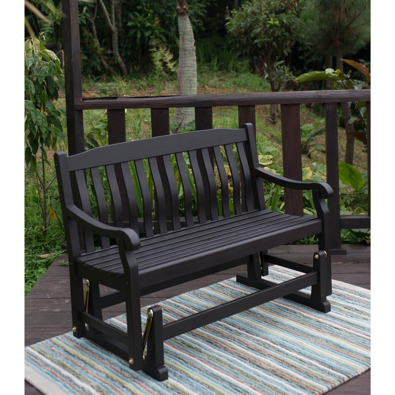 Buy Outdoor Patio Swing Porch Rocker Glider Bench Loveseat In Outdoor Patio Swing Glider Benches (View 4 of 25)