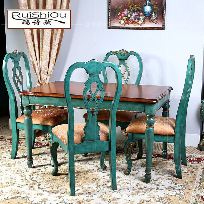 Buy Swish Western Style Rustic Furniture Mediterranean With Small Rustic Look Dining Tables (Image 2 of 25)