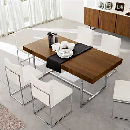 Calligaris Modern Rectangular Dining Table With Sturdy Inside Contemporary Rectangular Dining Tables (View 5 of 25)