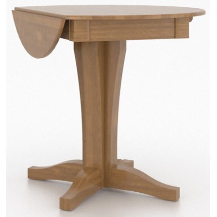 Canadel Custom Dining Counter Height Tables Customizable Pertaining To Transitional 4 Seating Double Drop Leaf Casual Dining Tables (View 10 of 25)