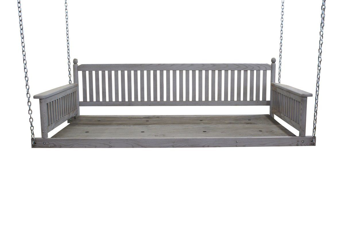 Cano Day Bed Porch Swing | Porch Swing, Porch Swing With With Regard To Daybed Porch Swings With Stand (View 25 of 25)