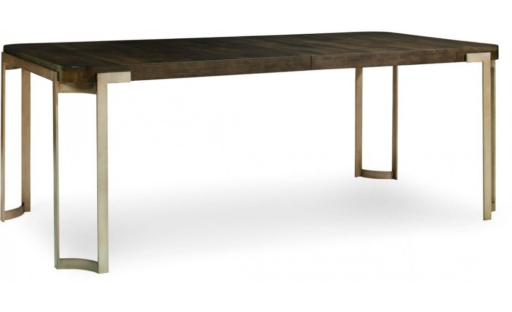 Caracole Modern Artisans Dining Table, Dark Fumed Oak – Clearance Sale For Fumed Oak Dining Tables (View 15 of 25)