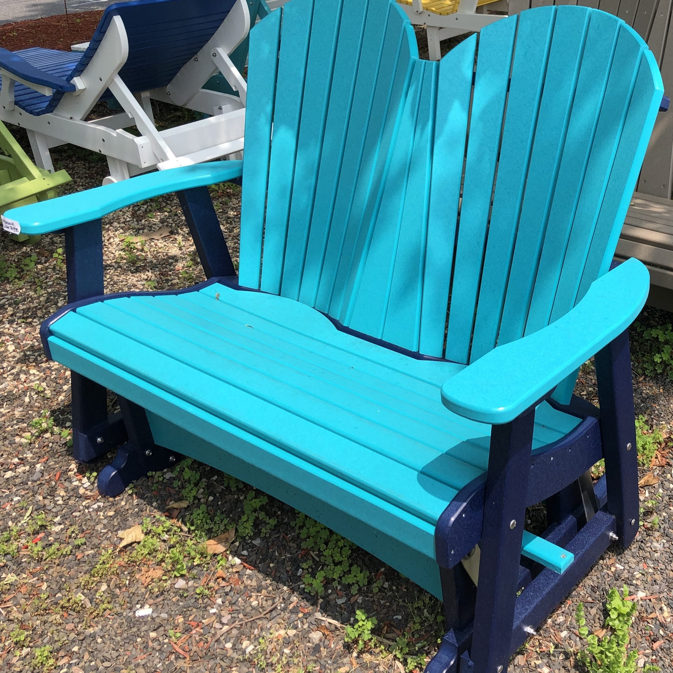 Chairs | Abbott's Wood Enterprises, Inc With Fanback Glider Benches (View 25 of 25)