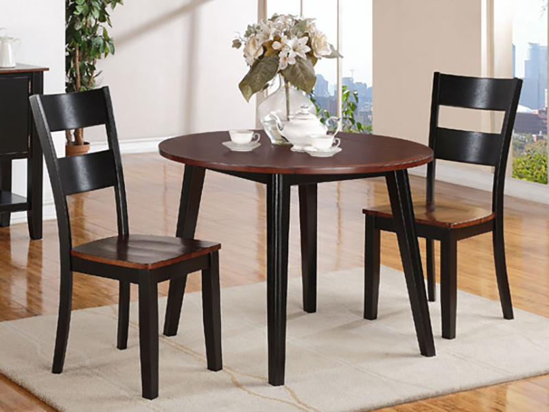 Charles Black Drop Leaf Collectionholland House In Transitional 3 Piece Drop Leaf Casual Dining Tables Set (View 12 of 25)