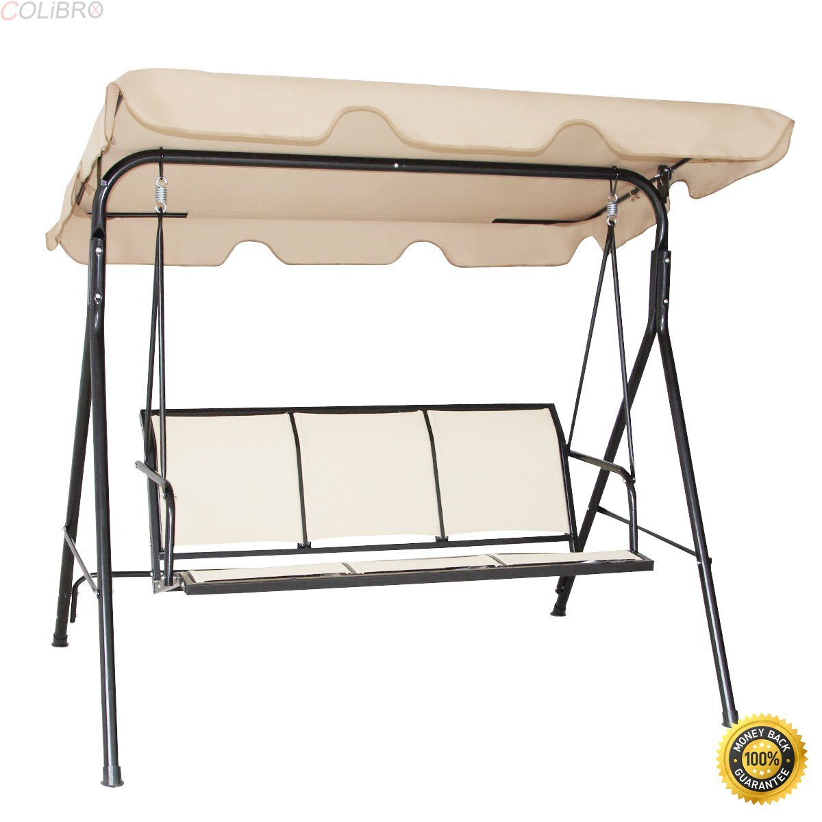 Cheap 3 Person Outdoor Swing With Canopy, Find 3 Person Regarding 3 Person Brown Steel Outdoor Swings (View 9 of 25)