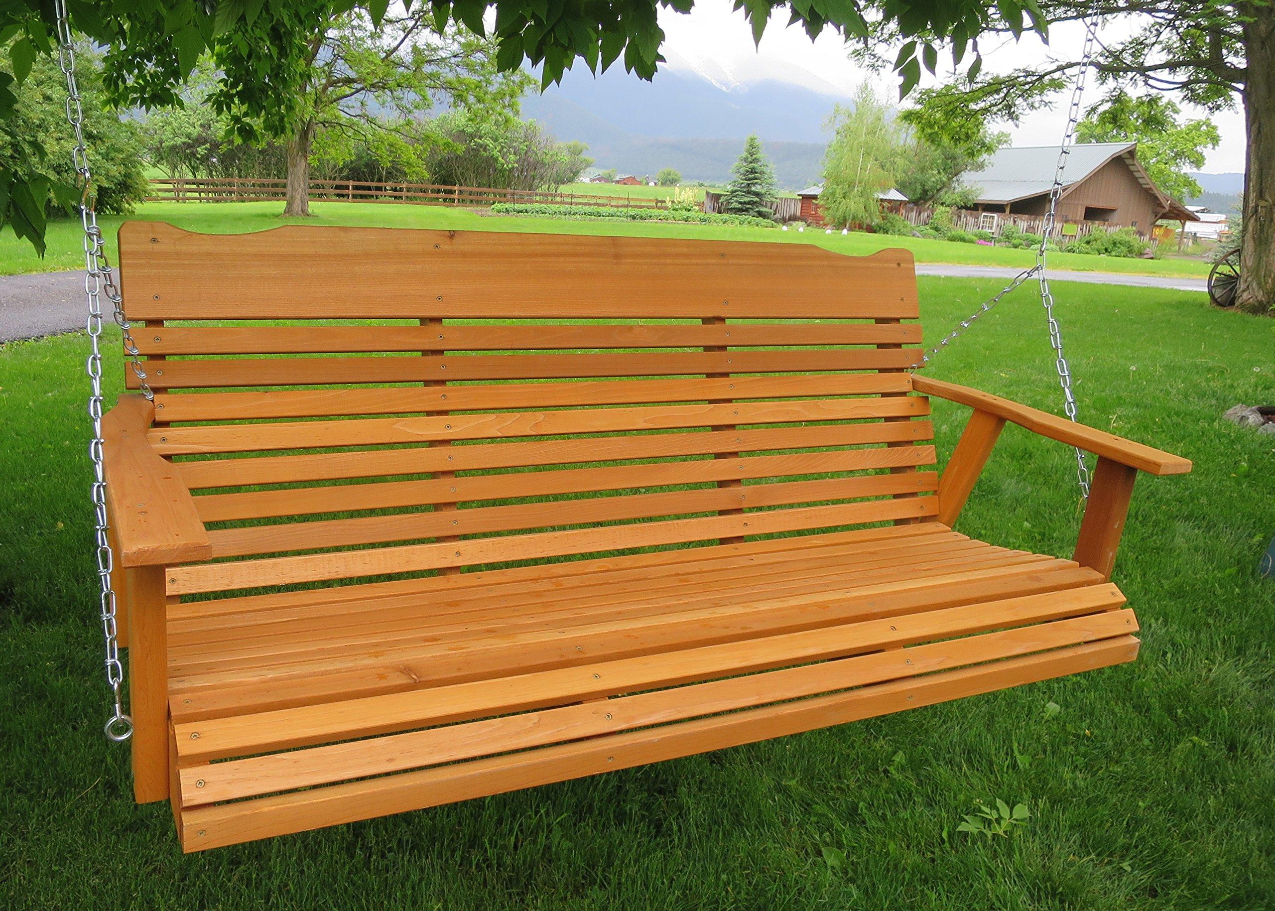 Cheap Cedar Swing Sets, Find Cedar Swing Sets Deals On Line Inside A4 Ft Cedar Pergola Swings (Image 11 of 25)