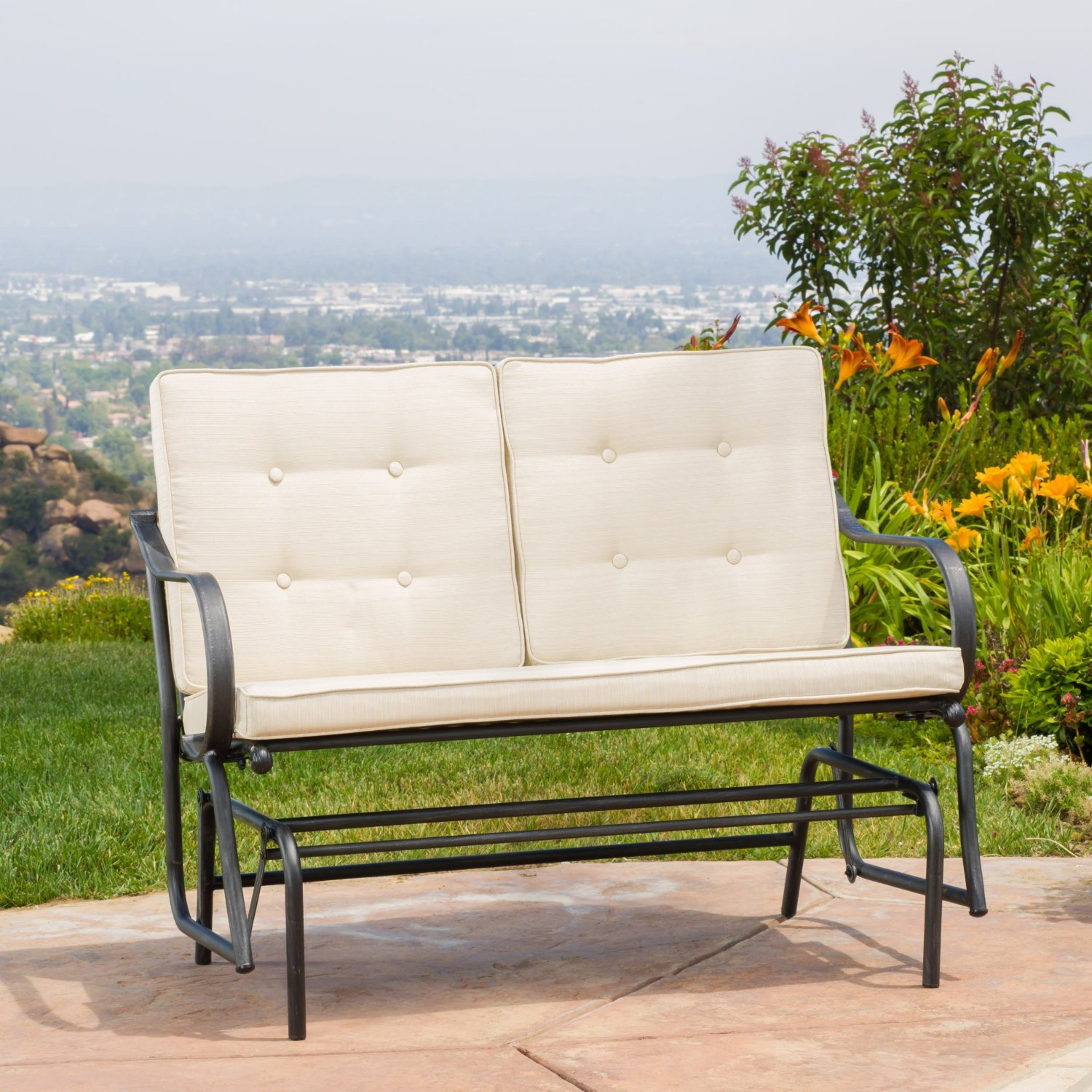 Cheap Outdoor Glider Rocker, Find Outdoor Glider Rocker For Cushioned Glider Benches With Cushions (View 19 of 27)
