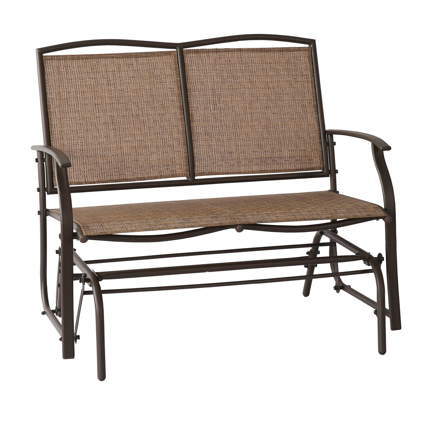 Cheap Patio Furniture Glider Bench, Find Patio Furniture Pertaining To Rocking Love Seats Glider Swing Benches With Sturdy Frame (View 14 of 25)