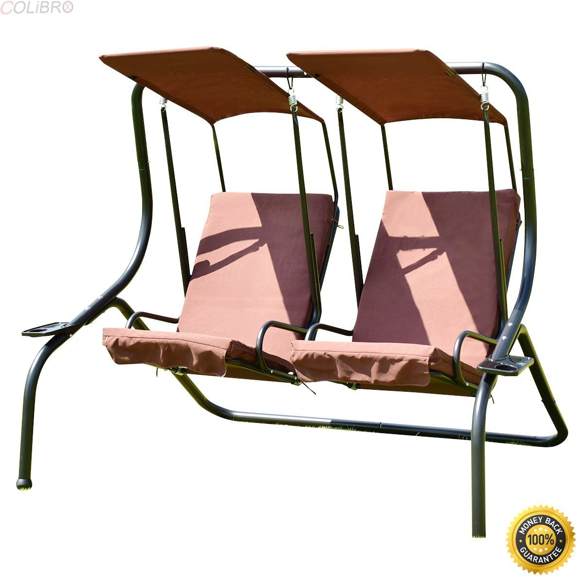 Cheap Porch Swing Hammock, Find Porch Swing Hammock Deals On For 2 Person Hammock Porch Swing Patio Outdoor Hanging Loveseat Canopy Glider Swings (View 13 of 25)