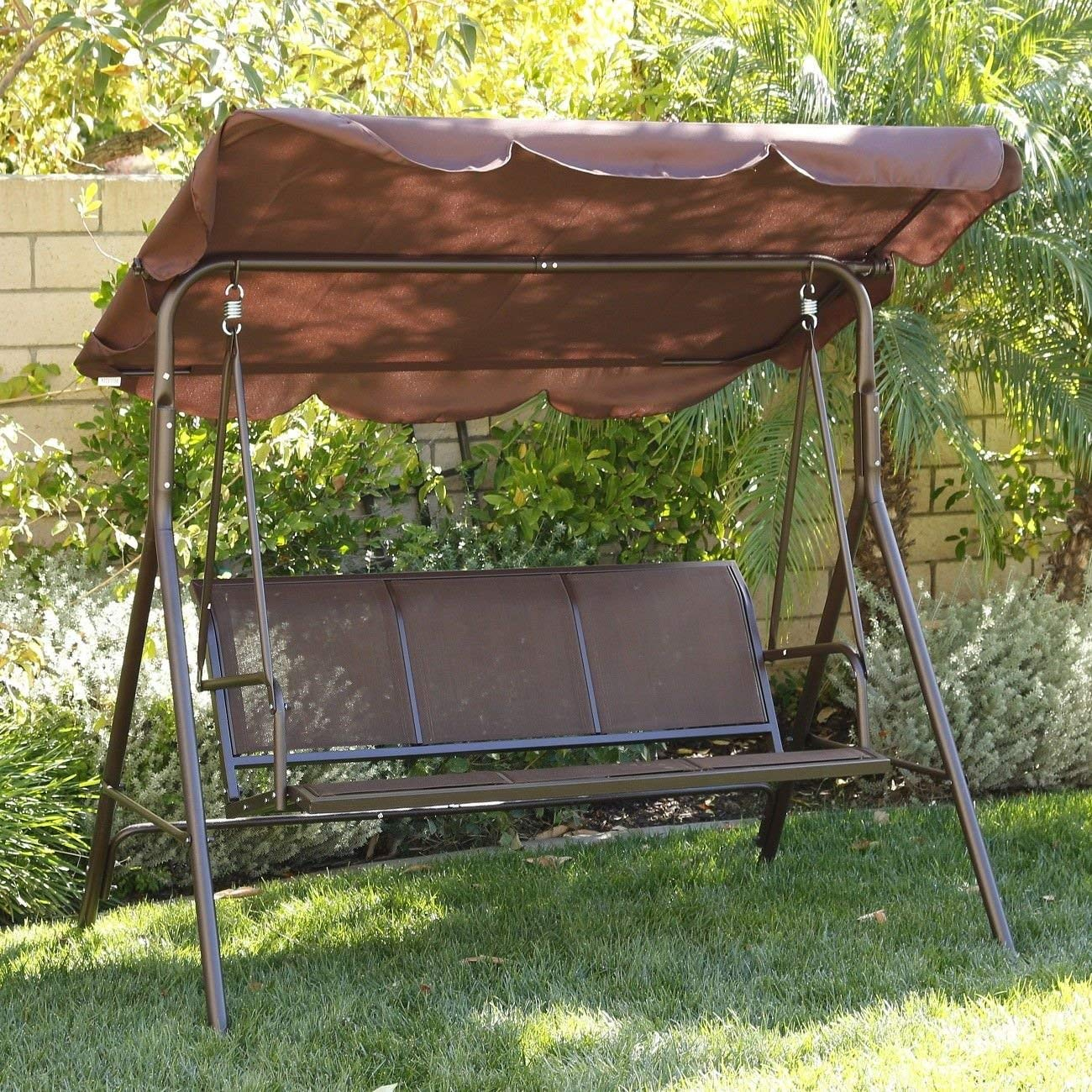Cheap Steel Frame Swing Set, Find Steel Frame Swing Set With Regard To 3 Person Brown Steel Outdoor Swings (View 24 of 25)
