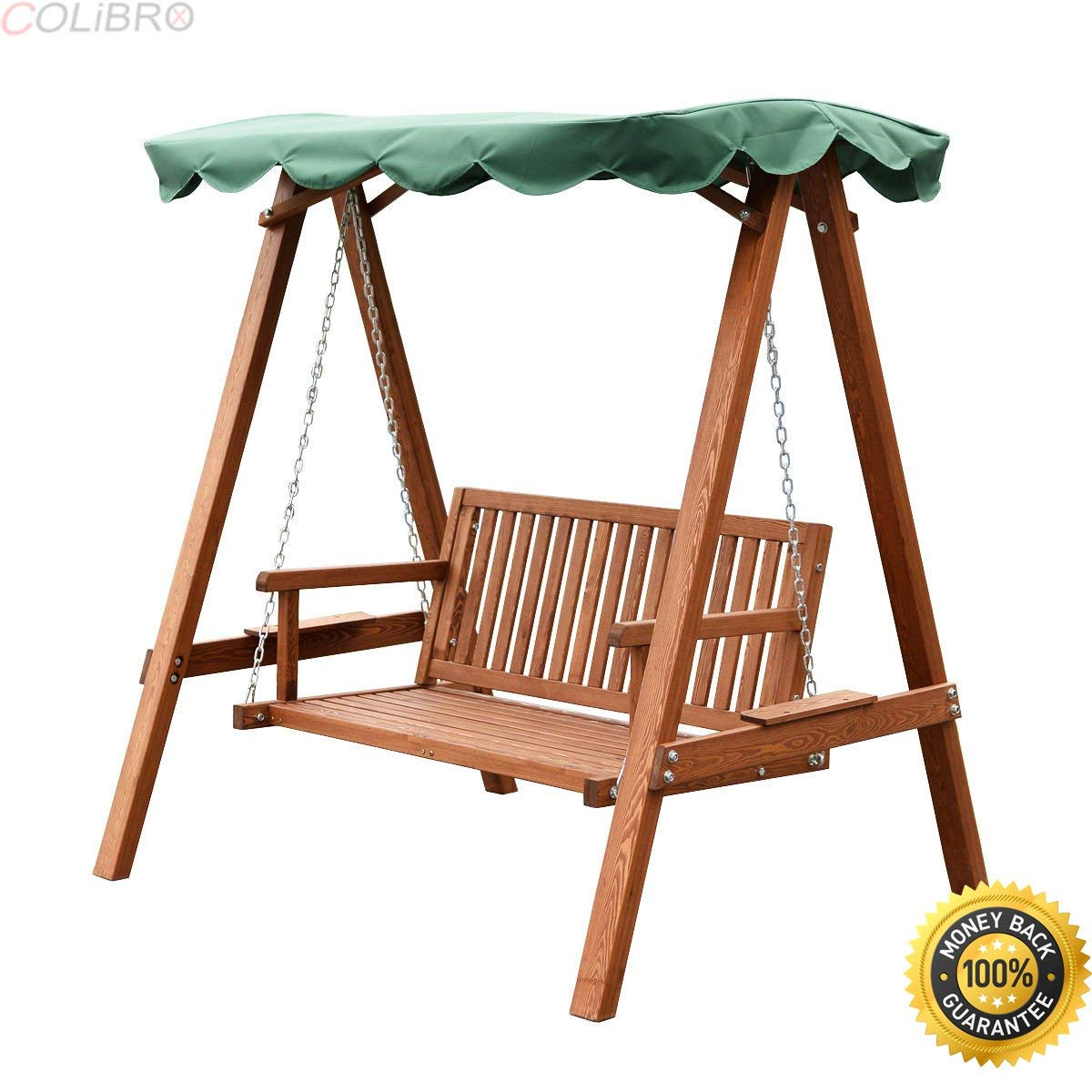 Cheap Wooden Garden Swing Seats Outdoor Furniture, Find For 2 Person Light Teak Oil Wood Outdoor Swings (View 5 of 25)