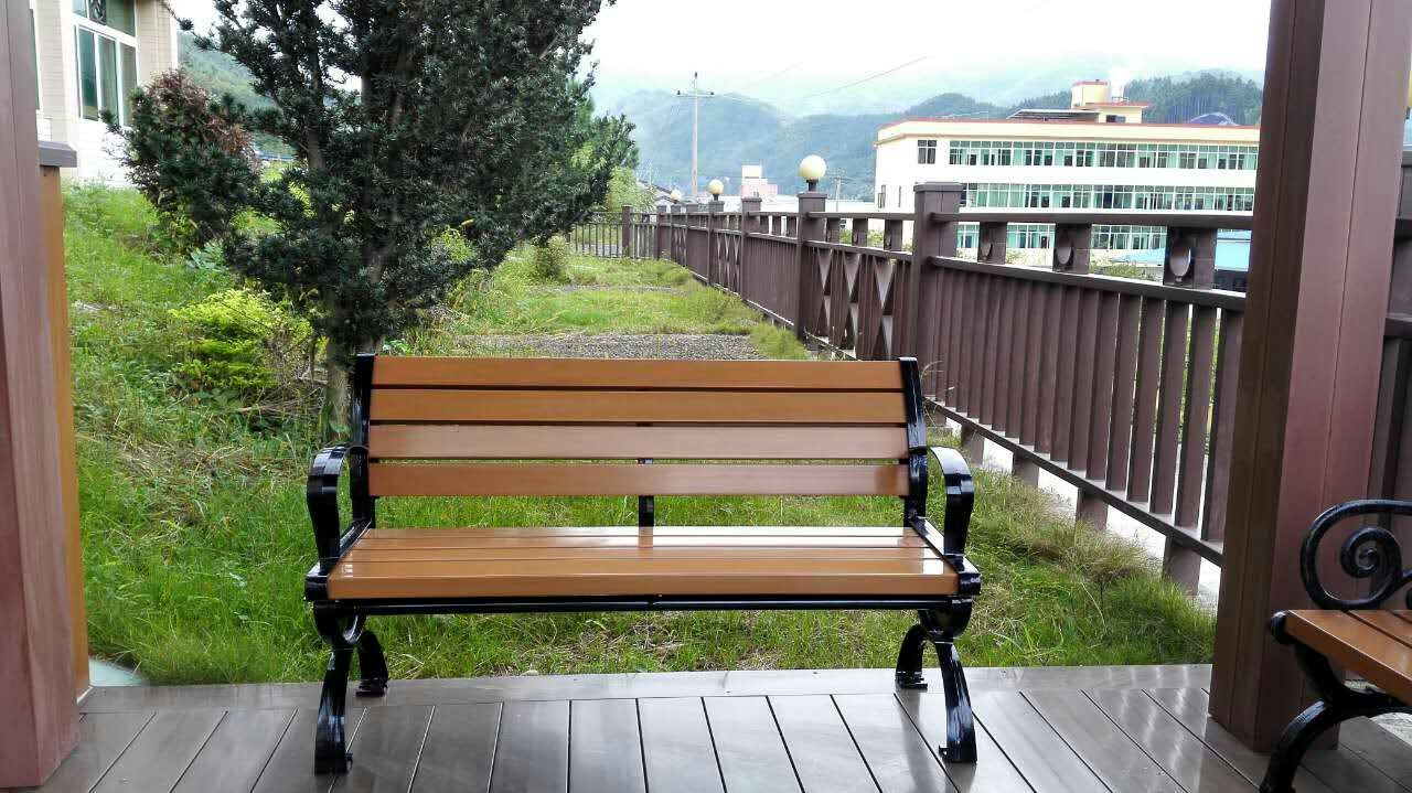 China Asa Pvc Co Extruded Wood Plastic Composite Materials Inside Wood Garden Benches (View 25 of 25)