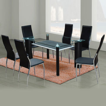 China Dining Table From Bazhou Manufacturer: Bazhou City Within Chrome Dining Tables With Tempered Glass (View 20 of 25)