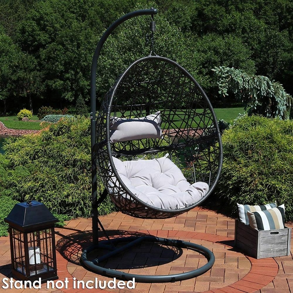 China Hanging Patio Furniture, China Hanging Patio Furniture Pertaining To Outdoor Wicker Plastic Tear Porch Swings With Stand (View 25 of 25)