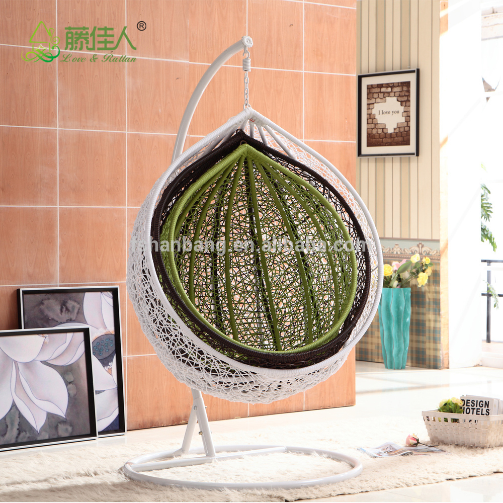 China Outdoor Swing Manufacturers Wholesale 🇨🇳 – Alibaba Regarding Outdoor Wicker Plastic Half Moon Leaf Shape Porch Swings (View 17 of 25)