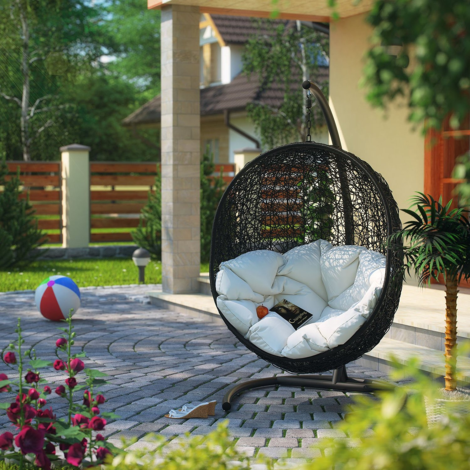 China Rattan Outdoor Patio Swing Chair Manufacturers And Regarding Rattan Garden Swing Chairs (View 16 of 25)