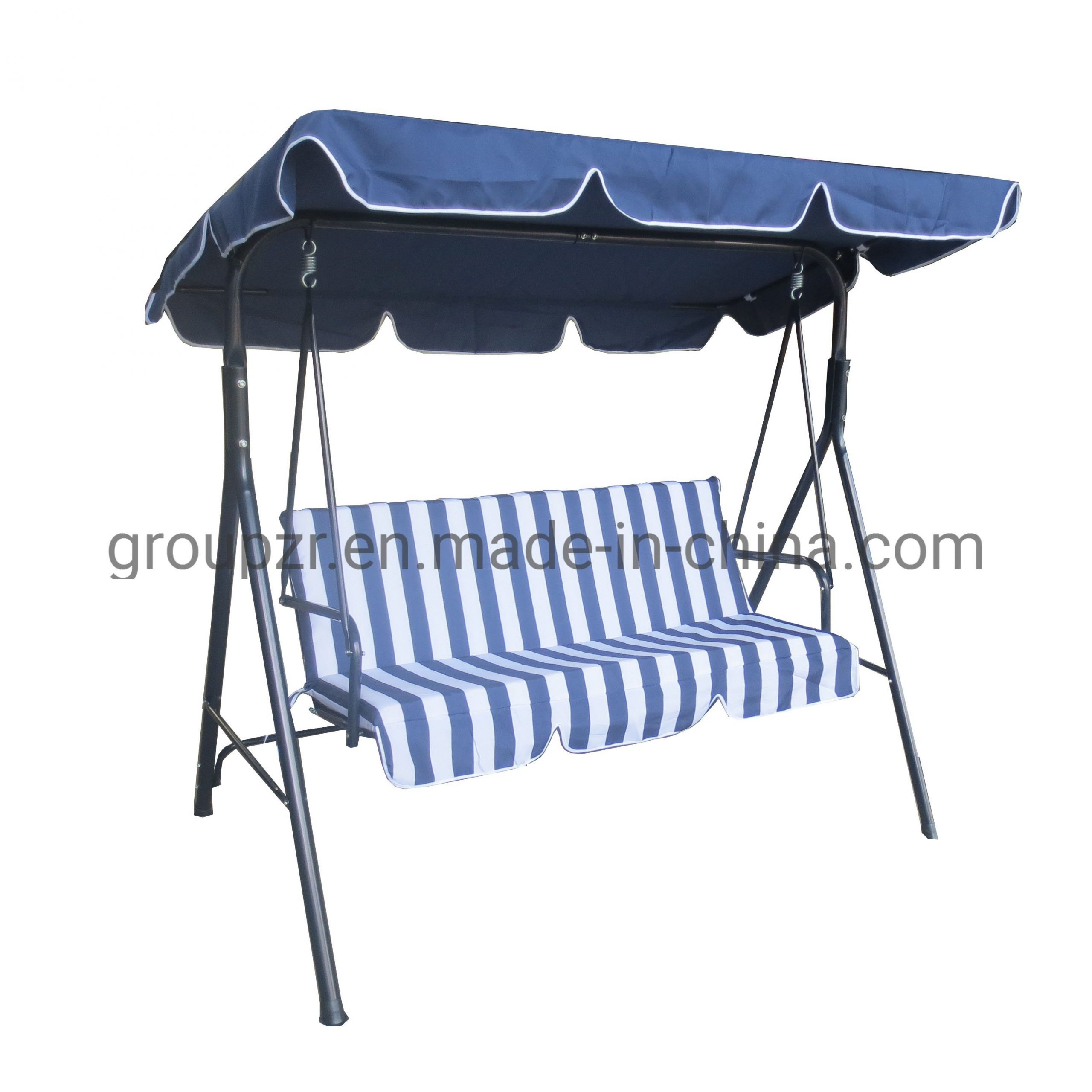 China Top Selling 3 Seats Garden Patio Swing Chair With Regarding Garden Leisure Outdoor Hammock Patio Canopy Rocking Chairs (View 7 of 25)