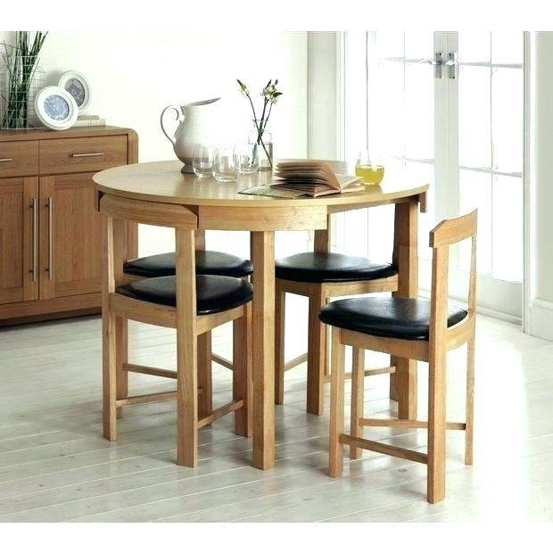 Circle Kitchen Table And Chairs Dining Circular Small For Solid Wood Circular Dining Tables White (Image 5 of 25)