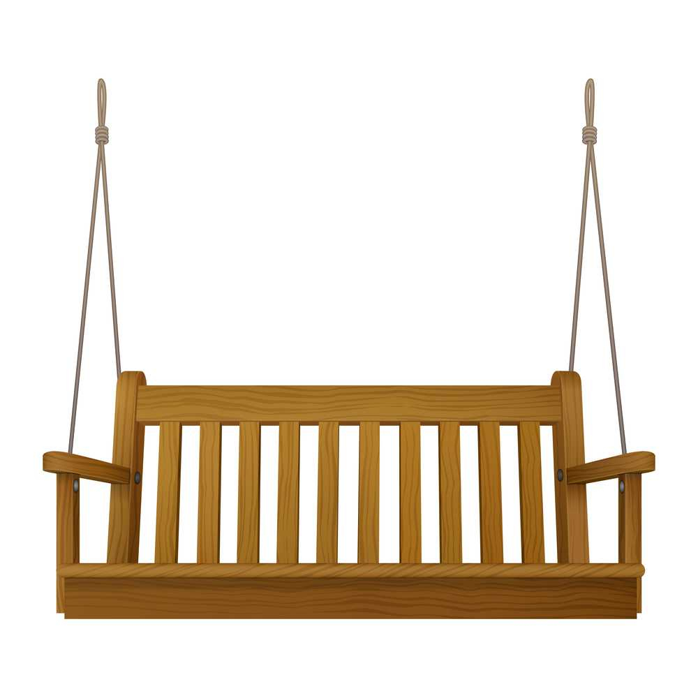 Classic Outdoor Garden Wooden Hanging On Frame Porch Swing Bench Furniture For Patio Gazebo Porch Swings (View 17 of 25)