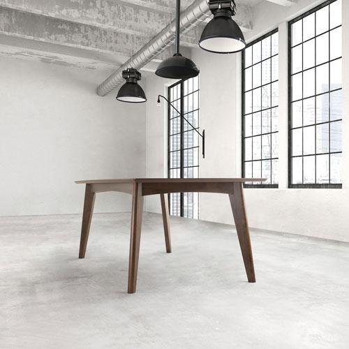 Coaster Contemporary 6 Seating Rectangular Casual Dining Table – Dark Walnut Pertaining To Contemporary 6 Seating Rectangular Dining Tables (View 2 of 25)