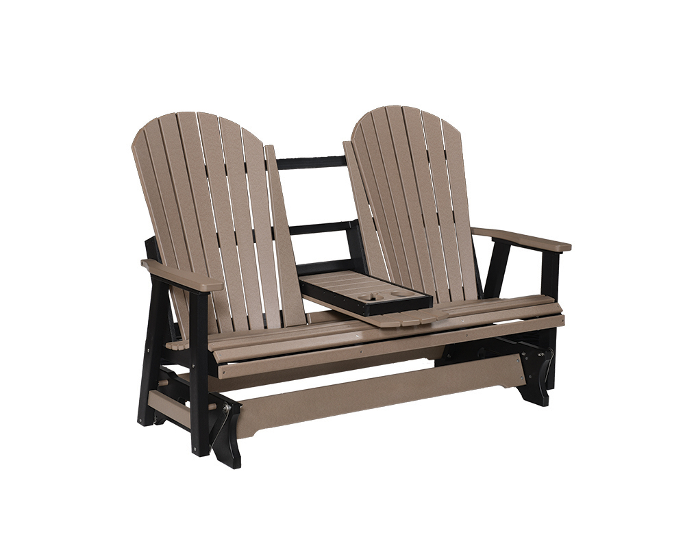 Comfo Back Three Seat Glider – Green Acres Outdoor Living With Regard To Outdoor Fabric Glider Benches (View 23 of 25)