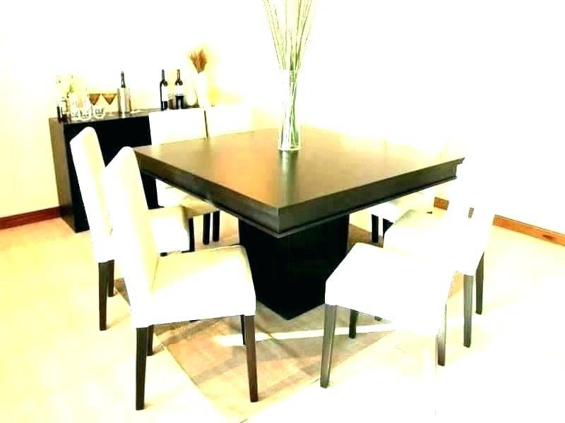 Contemporary Dining Room Set Chairs For Table Dimensions For 8 Seater Wood Contemporary Dining Tables With Extension Leaf (View 25 of 25)