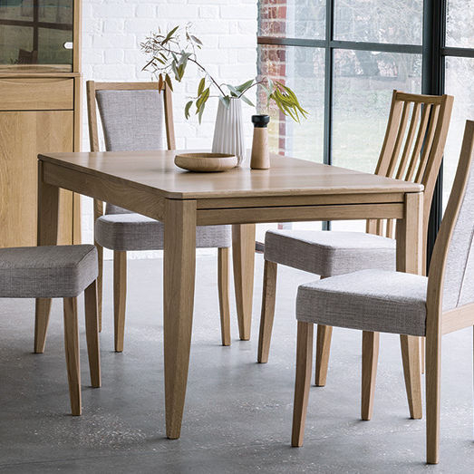 Contemporary Dining Table / Oak / Rectangular / Square For 6 Seater Retangular Wood Contemporary Dining Tables (View 23 of 25)