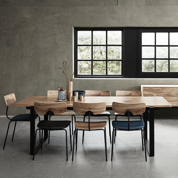 Contemporary Dining Table / Wooden / Rectangular / Extending With Contemporary 6 Seating Rectangular Dining Tables (View 22 of 25)