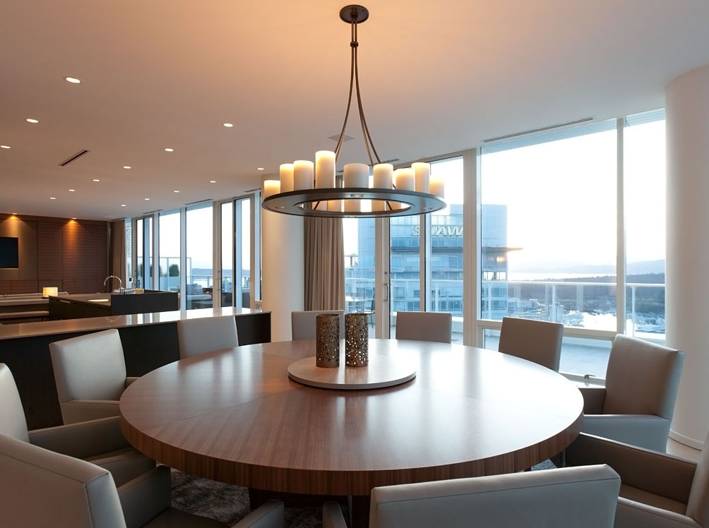 Contemporary Large Round Dining Table Seat 10 Maitland Smith Inside Elegance Large Round Dining Tables (Image 6 of 25)