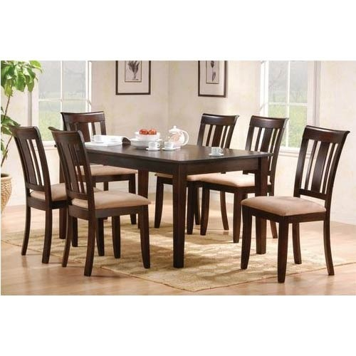 Contemporary Rectangular Dining Table Set With Regard To Contemporary Rectangular Dining Tables (View 23 of 25)