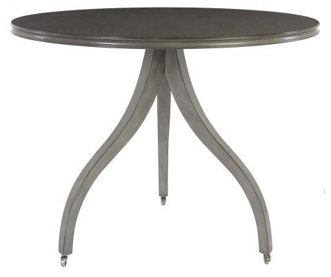 Cosmopolitan Tripod Pedestal Round Dining Table – Safavieh Regarding Distressed Grey Finish Wood Classic Design Dining Tables (Image 8 of 25)