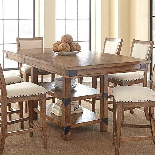 Counter Height Kitchen Table With Storage | Kitchen With Regard To Morris Round Dining Tables (View 4 of 25)