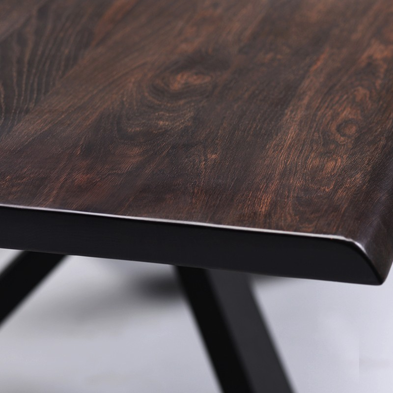 Couture – Nuevo Within Dining Tables In Seared Oak (Image 6 of 25)