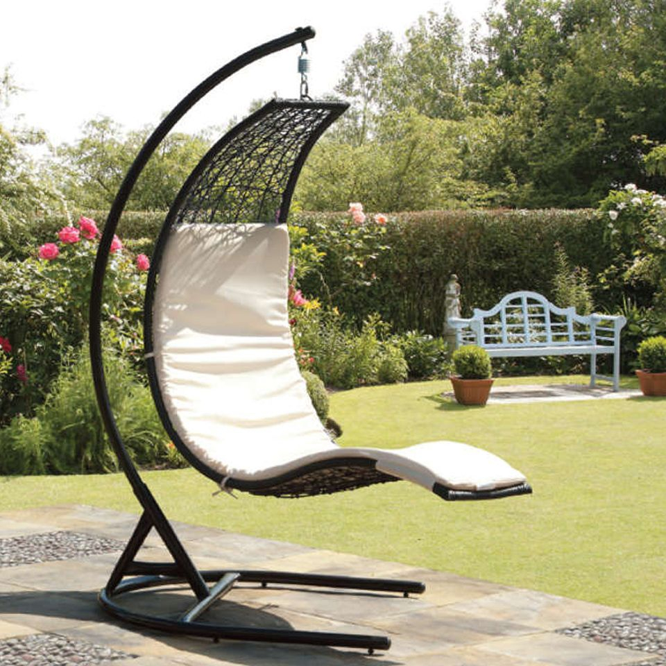 Covered Patio Swing | Suntime Curve Rattan Garden Swing Seat Intended For Rattan Garden Swing Chairs (View 25 of 25)