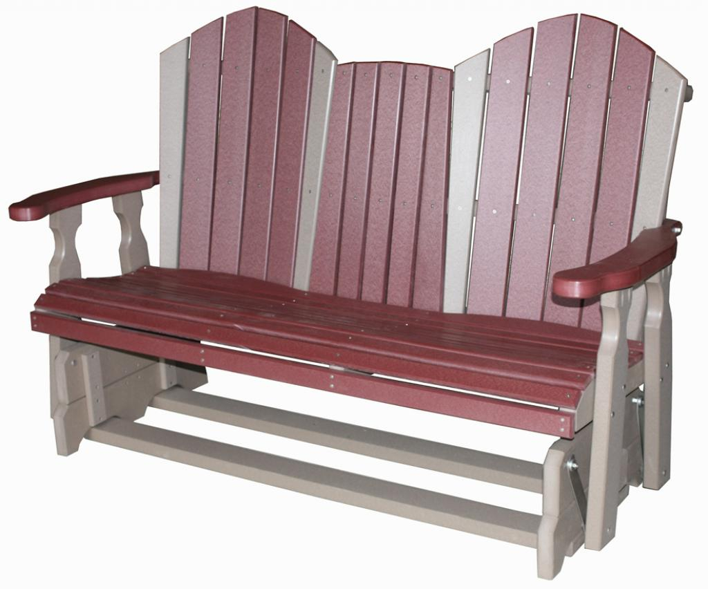 Creekside / 5′ Classic Glider Bench Seat – Three Sisters Regarding Classic Glider Benches (View 17 of 25)