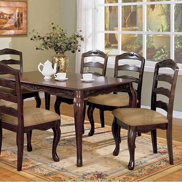 Crutchfield Transitional Dining Table | Affordable Dining Pertaining To Transitional Antique Walnut Drop Leaf Casual Dining Tables (View 11 of 25)