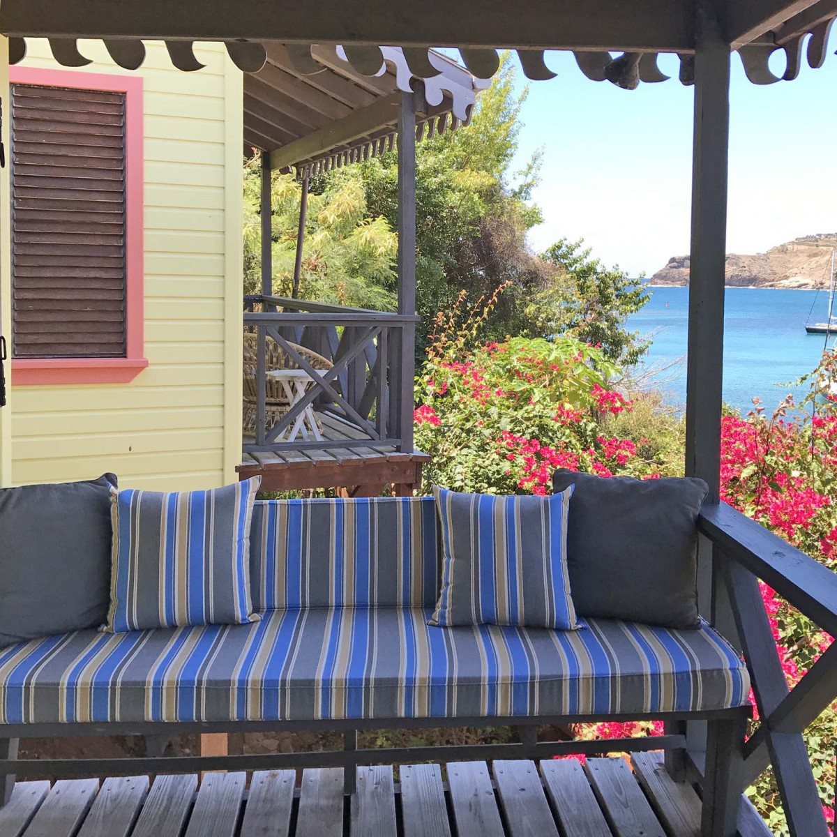 Custom Outdoor Glider / Porch Swing Cushions – Outdoor Within Outdoor Fabric Glider Benches (View 18 of 25)