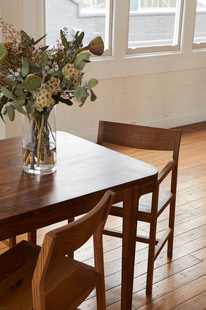 Cuthy Dining Table – Hugh Mccarthy Pertaining To Dining Tables With Stained Ash Walnut (Image 5 of 25)