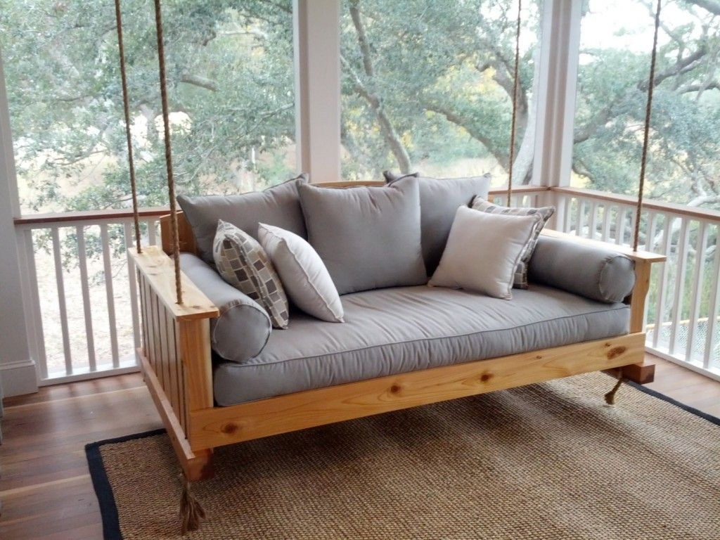 Day Bed Swing On Porch | Daybeds And Chaises | Outdoor Porch Pertaining To Day Bed Porch Swings (Image 6 of 25)