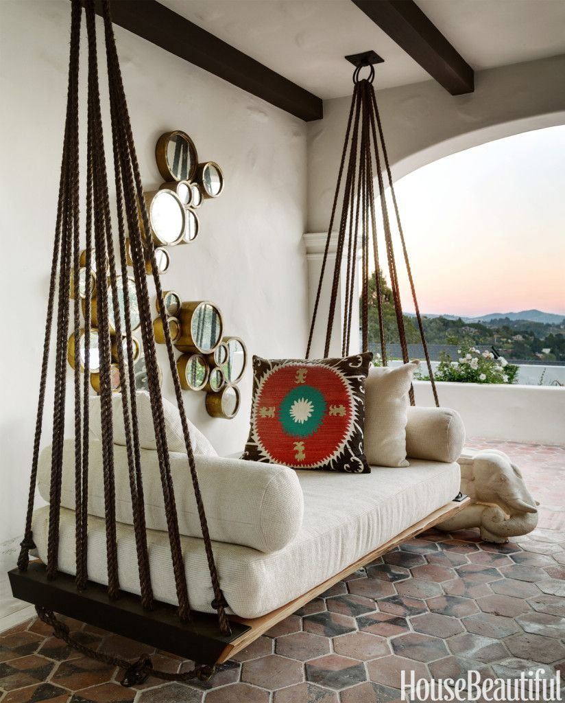 Daydreaming: Outdoor Beds | Outdoor Beds, Home Decor, Furniture Within Hanging Daybed Rope Porch Swings (Image 12 of 25)