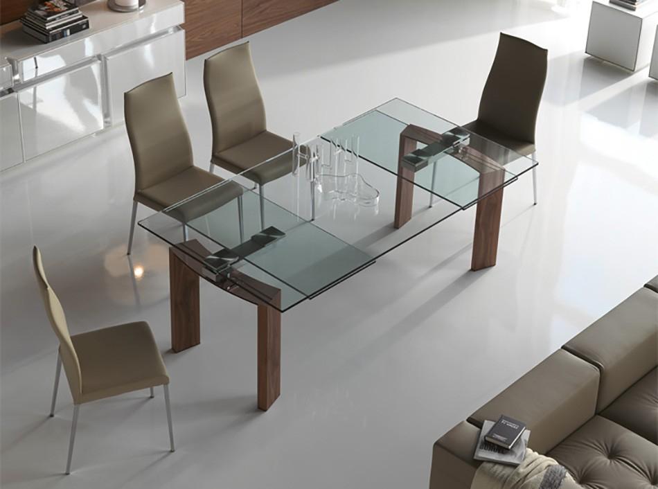 Daytona Rectangular Dining Tablecattelan Italia – Dining Inside Rectangular Glasstop Dining Tables (Image 7 of 25)