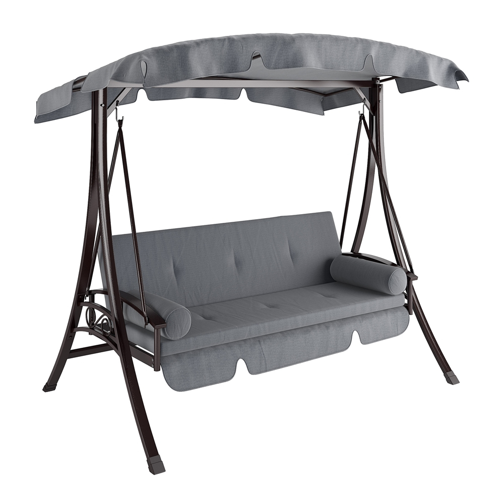 Decor: Enjoyable Your Outdoor Exterior With Fascinating In Daybed Porch Swings With Stand (View 23 of 25)